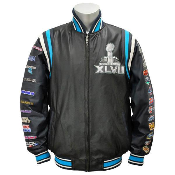 MLB NBA NFL Goods Shop  NFL Super Bowl XLVII Commemorative Leather ... 4d793e457