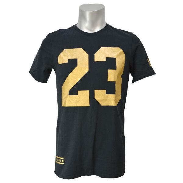 gold jordan shirt