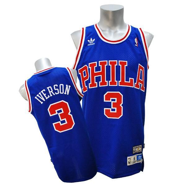 NBA 76ers アレン・アイバーソン ユニフォーム 50 Year Anniv アディダス Soul Swingman ユニフォーム