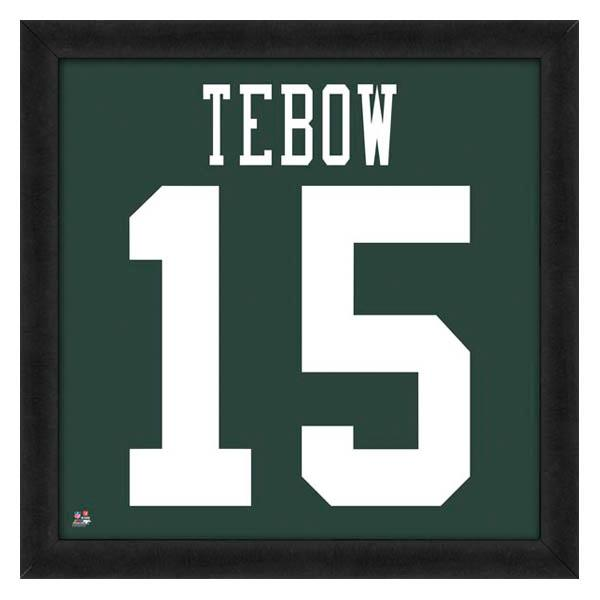 NFL ジェッツ ティム・ティーボウ フォト ファイル/Photo File UNIFRAME 20 x 20 Framed Photographic【1910価格変更】
