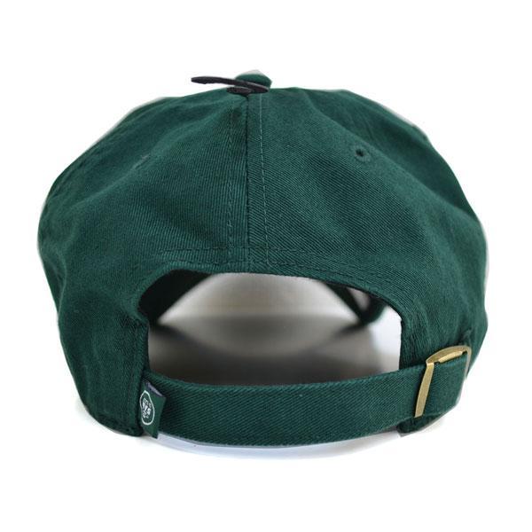 new concept 5defb 7af3c ... NFL Jets cap   hat dark green 47 brand Cleanup Adjustable cap ...