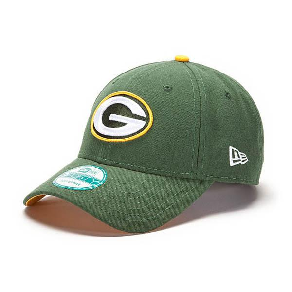 210e4a7f NFL Packers Cap / Hat new era First Down 9FORTY Structured Adjustable Cap