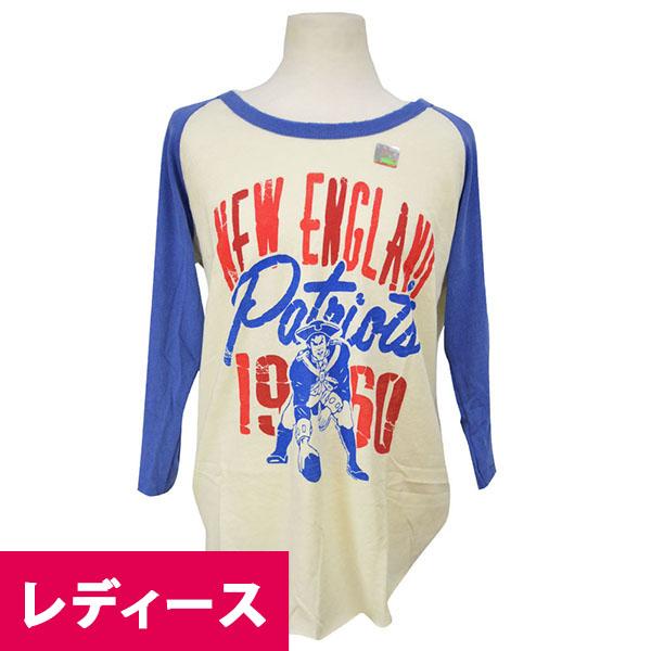 NFL ペイトリオッツ Tシャツ シュガー/リバティ ジャンクフード/Junkfood Womans ALL-AMERICAN RAGLAN