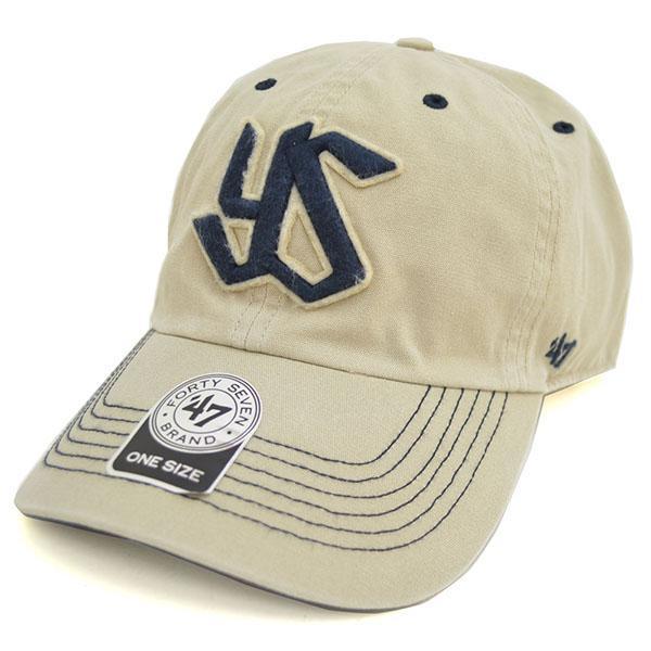东京养乐多燕子商品盖子/帽子白47名牌/47 Brand(Gibbs Cap)