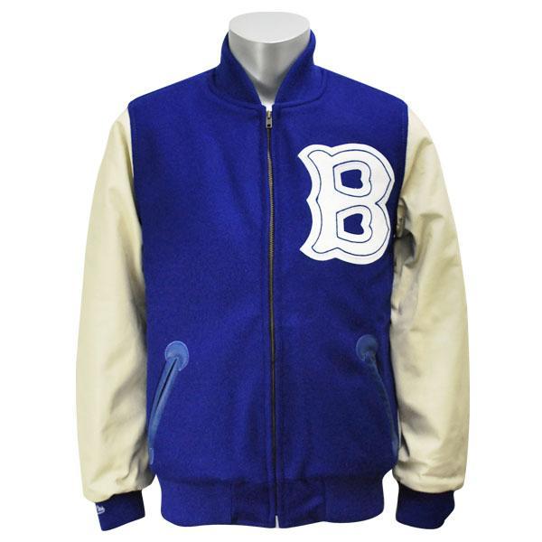 MLB ドジャース ジャケット/スタジャン 1947-ロイヤル ミッチェル&ネス Wool ジャケット/スタジャン【1811MNセール】