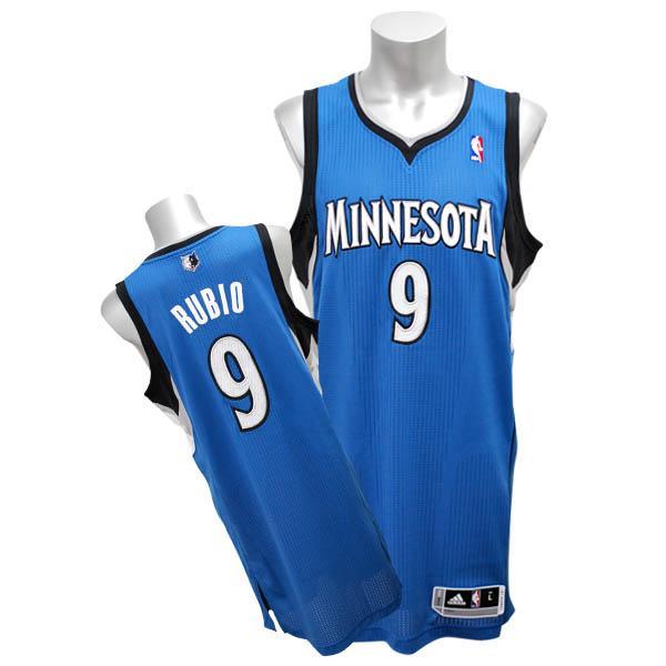 NBA ティンバーウルブズ リッキー・ルビオ ユニフォーム ロード Adidas 特別セール