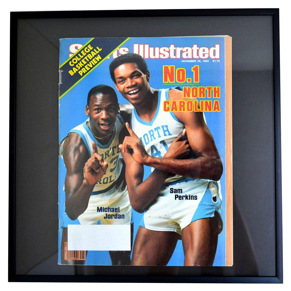 NBA ブルズ マイケル・ジョーダン フォトフレーム Photo Frame in Sports Illustrated 1983/11/28