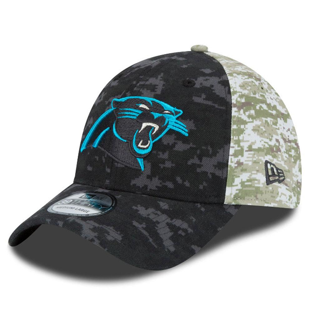 ed2ff0c75f5 ireland nfl panthers cap hat 2015 salute to service on field 39thirty caps  new era 4a339