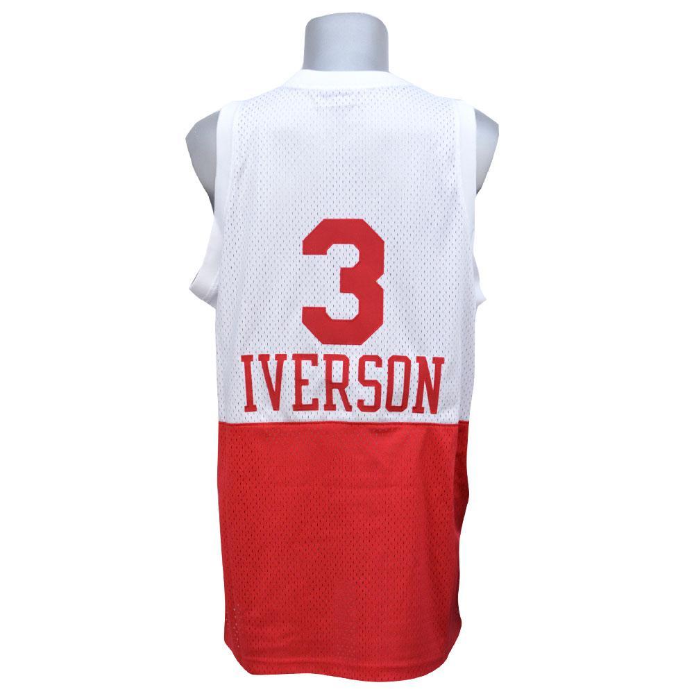 3ef08eab3569 MLB NBA NFL Goods Shop  NBA 76ers Allen Iverson soul Swingman Jersey ...