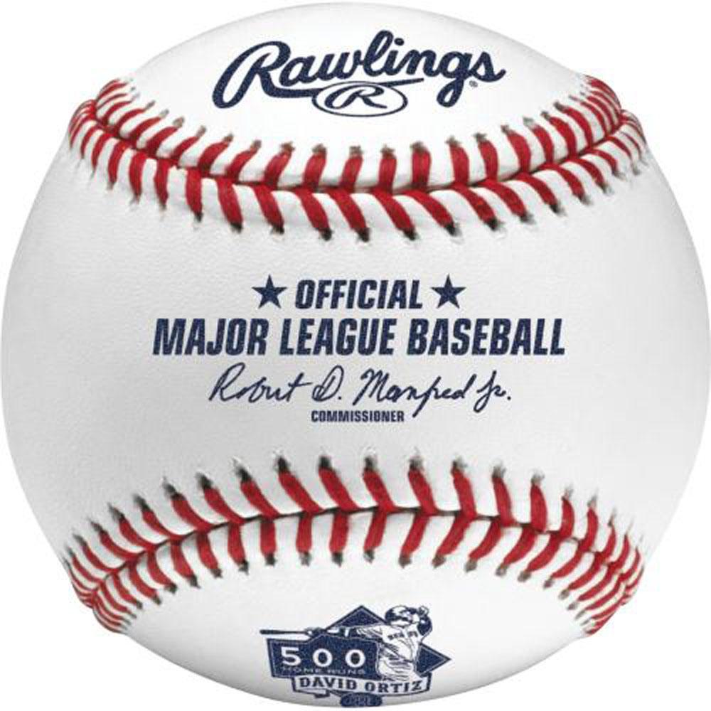 MLB レッドソックス デービッド・オルティス 500本塁打 記念 ボール ローリングス/Rawlings【1910価格変更】