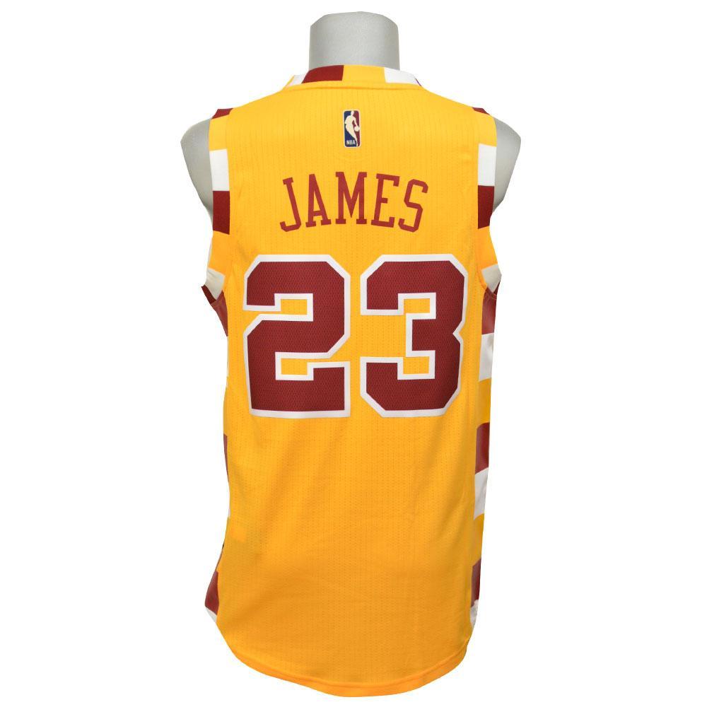 NBA キャバリアーズ レブロン・ジェイムス ハードウッド クラシック ユニフォーム アディダス/Adidas