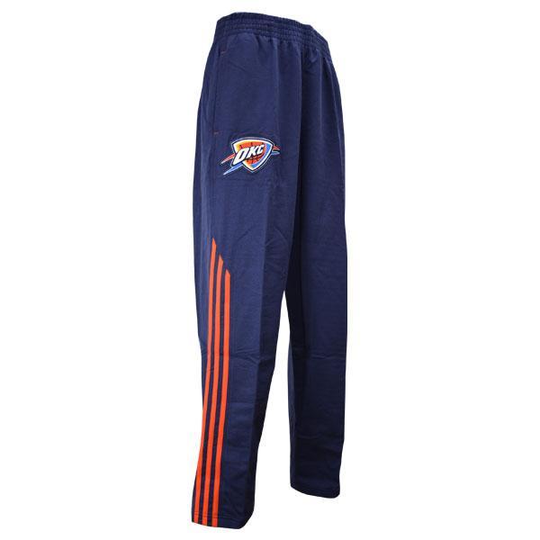-NBA Oklahoma City Thunder Pre Game pants 2013 (Navy) Adidas