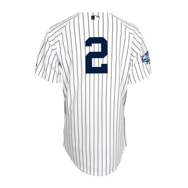 【リニューアル記念メガセール】MLB ヤンキース デレク・ジーター ユニフォーム ホーム Majestic