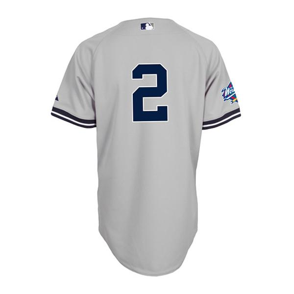 8759808f2 MLB NBA NFL Goods Shop: 1998 MLB Yankees #2 Derek Jeter World Series Patch  Authentic uniform (road) Majestic | Rakuten Global Market