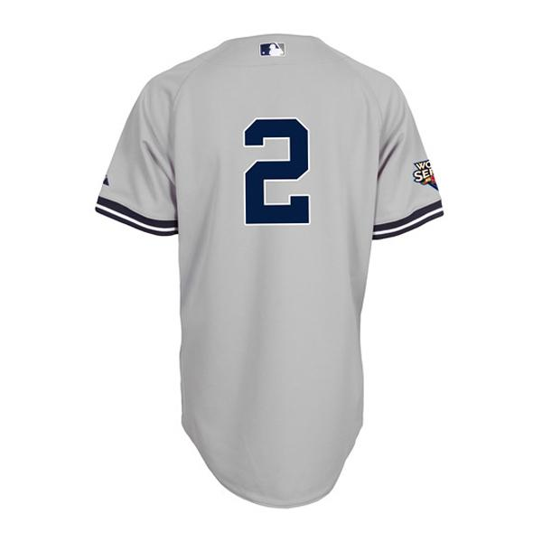 low priced c724e f84b5 MLB Yankees Derek Jeter uniform road Majestic