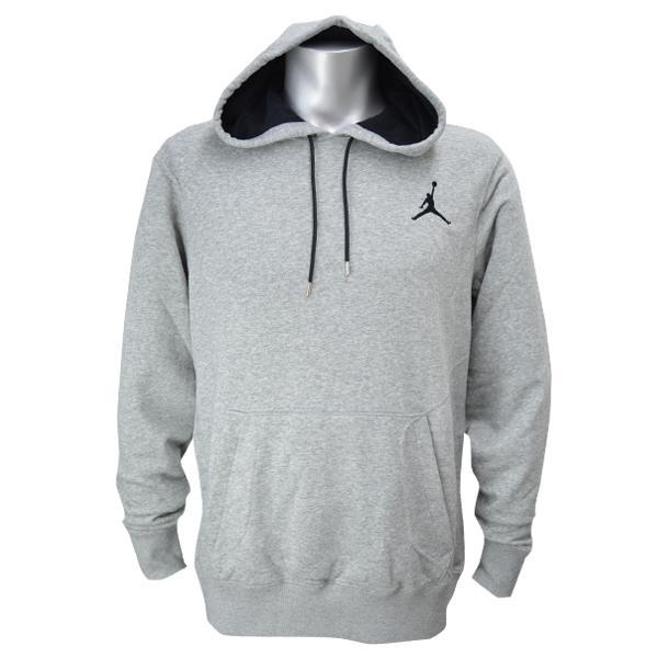 耐克 Jordan /NIKE 约旦连帽衫针炙的灰色/黑色 (全能套衫帽衫)