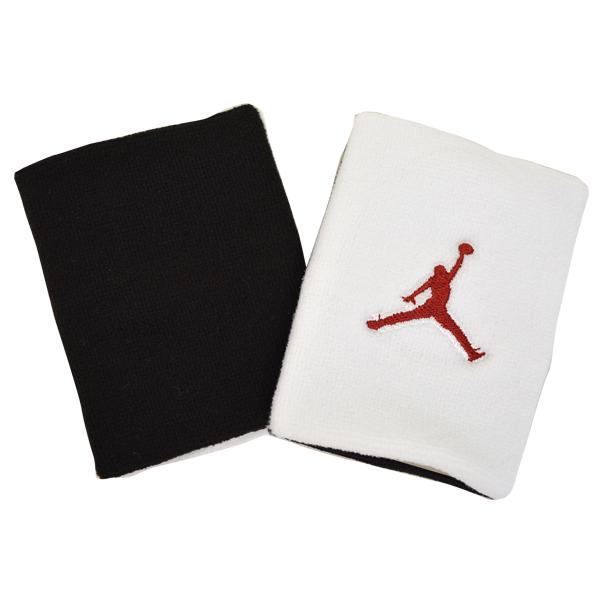NIKE JORDAN Jumpman wristbands (white/black/red)