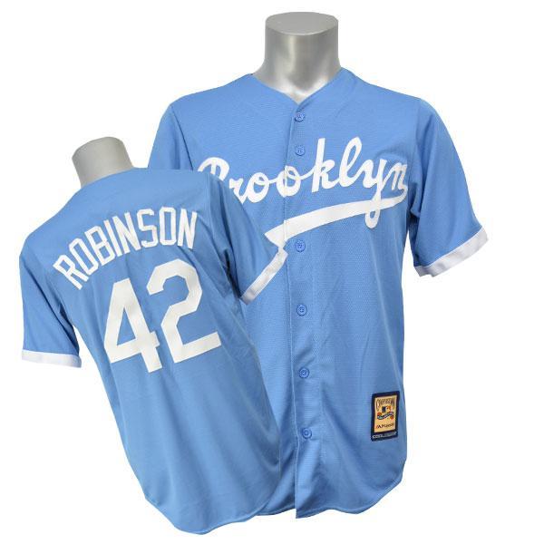 【リニューアル記念メガセール】MLB ドジャース ジャッキー・ロビンソン ユニフォーム オルタネート Majestic