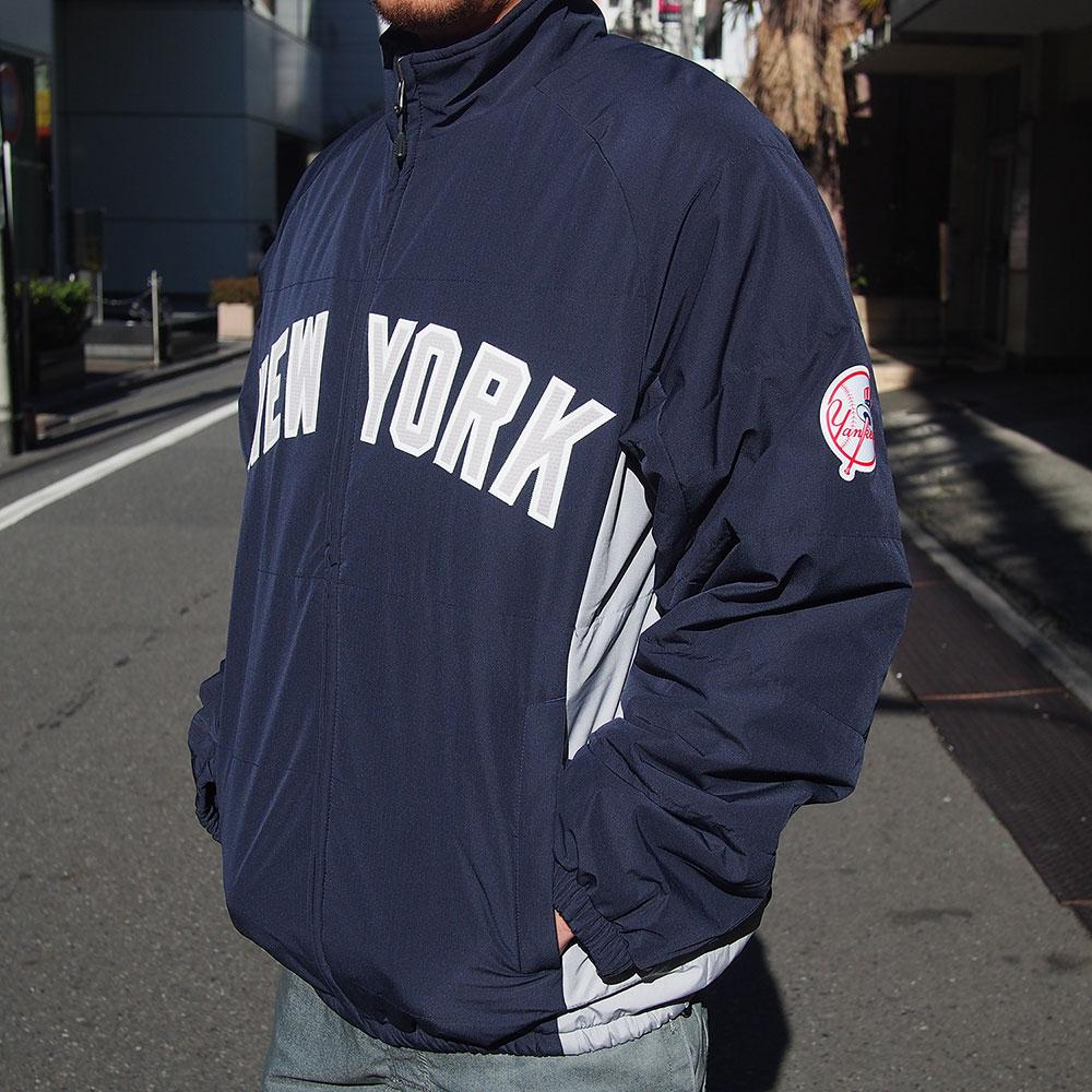 Majestic MLB Chicago Cubs Authentic Double Climate On-Field jacket (blue)