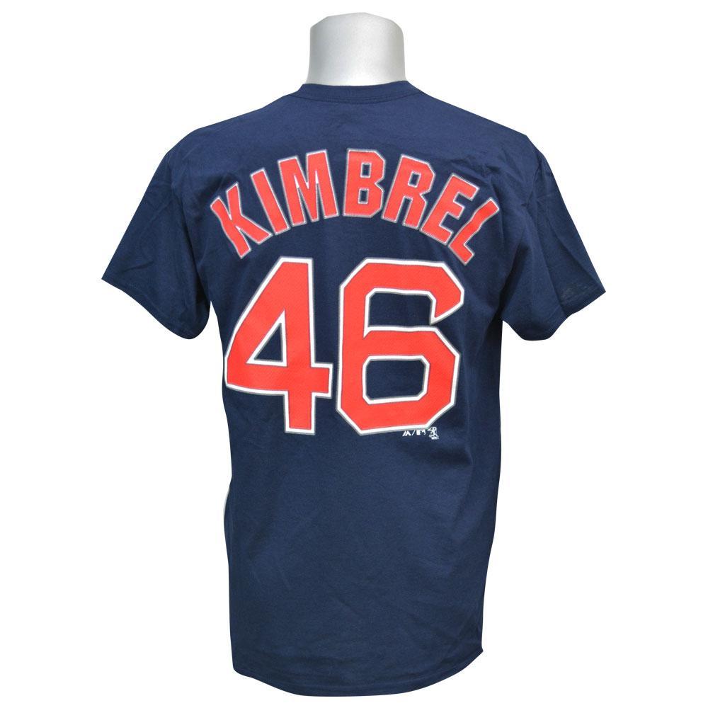 quality design e5b69 14a3f MLB Red Sox Craig kimbrel Player T shirt majestic /Majestic