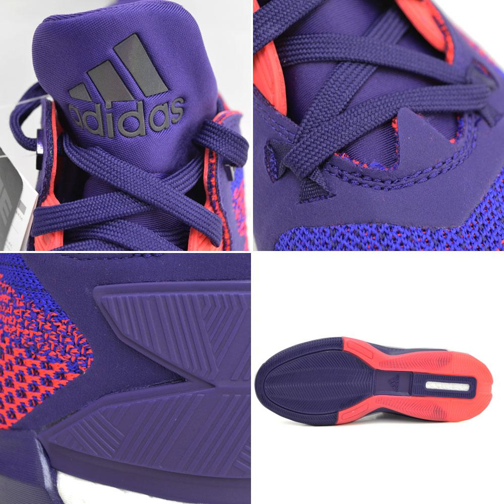 best sneakers 289e0 cfba0 LILLARD Damian-relaxed D related 2 boost Prime knit ASG adidas Adidas dark  purple  blast paper  shock Red