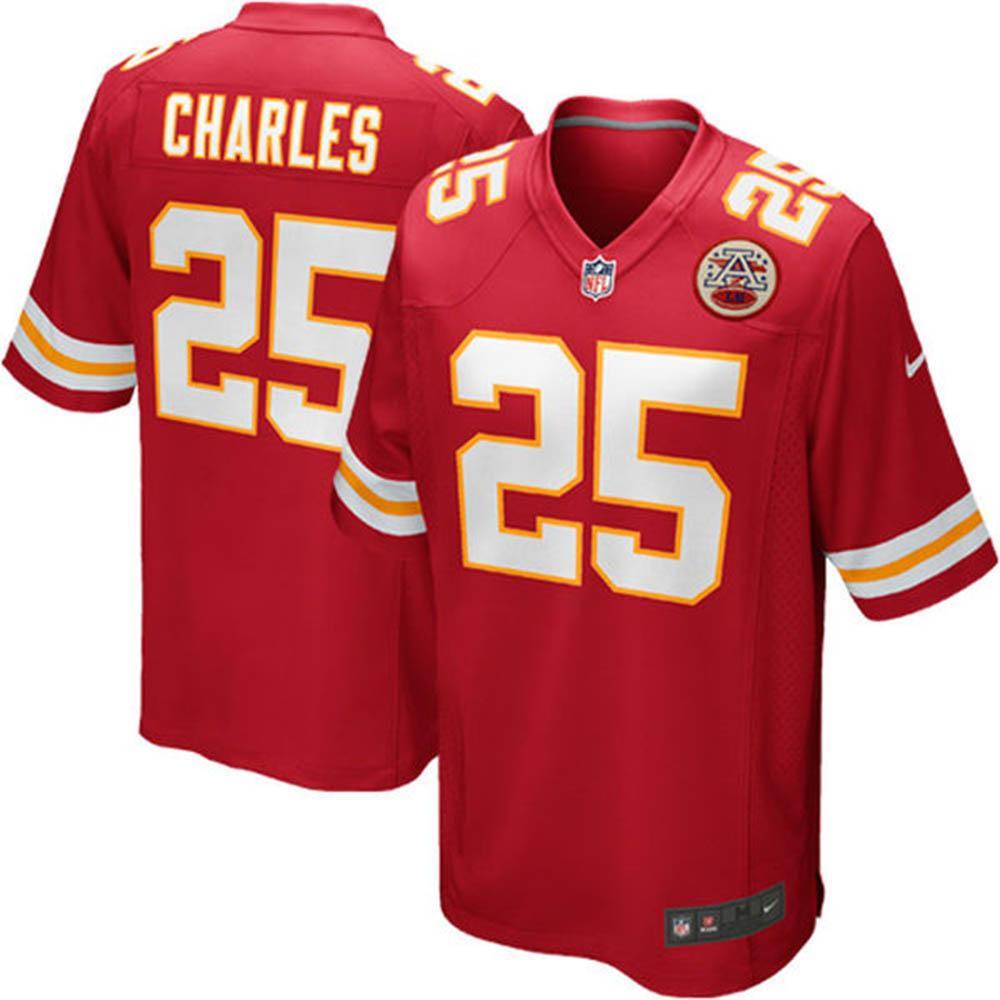 NFL チーフス ジャマール・チャールズ ゲーム ユニフォーム ナイキ/Nike 特別セール