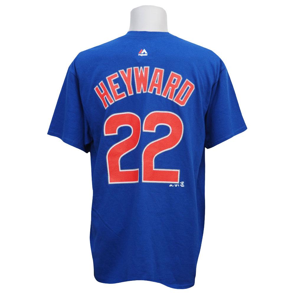 MLB カブス ジェーソン・ヘイワード プレイヤー Tシャツ マジェスティック/Majestic【1910セール】【1112】