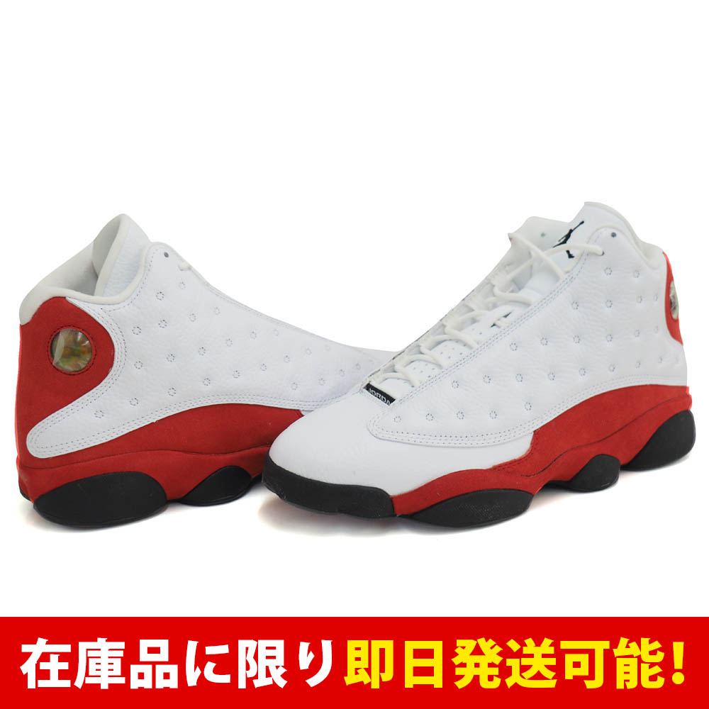 ジョーダン JORDAN AIR 13 ナイキ Nike White Black-Varsity Red