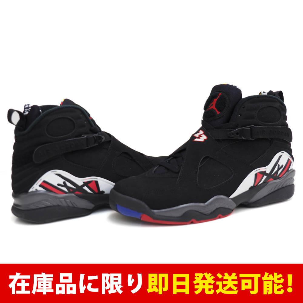 ジョーダン JORDAN 8 ナイキ Nike Blk Vrsty Rd-White-Brght-Concrd