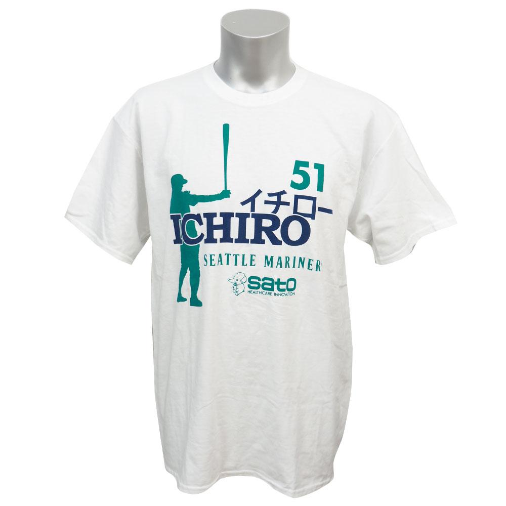 MLB マリナーズ イチロー 2012 Tシャツ エスジーエー/SGA レアアイテム【1910価格変更】【1112】