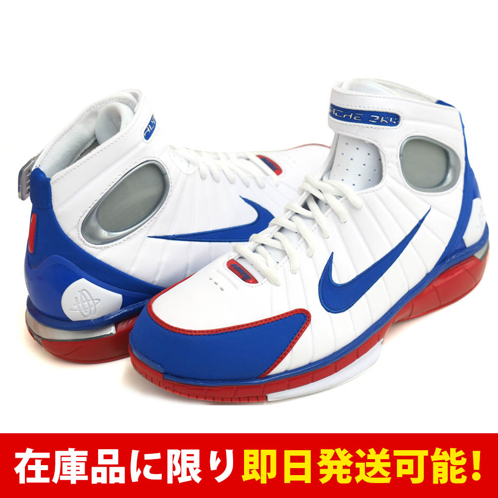 コービー・ブライアント AIR ZOOM HUARACHE 2K4 ナイキ Nike White Royal-Sport Red