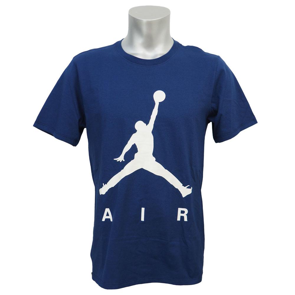ジョーダン/JORDAN ジャンプマン エア パールセント Tシャツ ネイビー レアアイテム【1910価格変更】