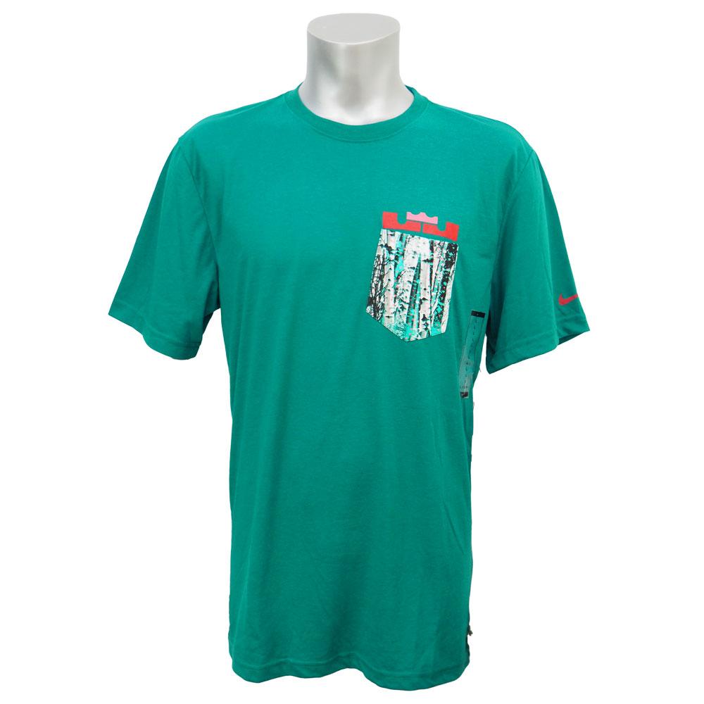 ナイキ レブロン/NIKE LEBRON レブロン12 クリスマス Tシャツ グリーン レアアイテム【1910価格変更】