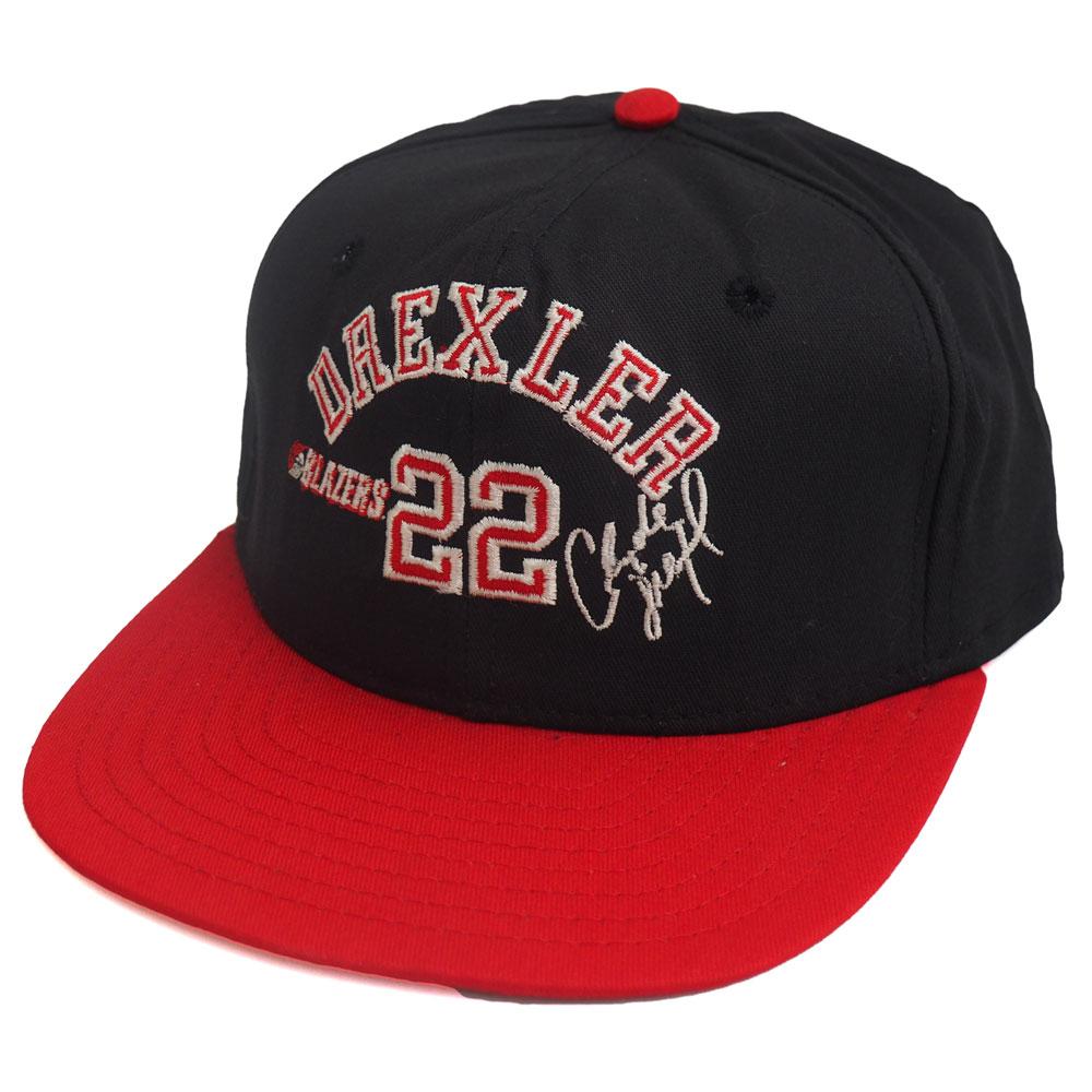 NBA トレイルブレイザーズ クライド・ドレクスラー シグネチャー キャップ/帽子 AJD ブラック レアアイテム【1910価格変更】【191028変更】