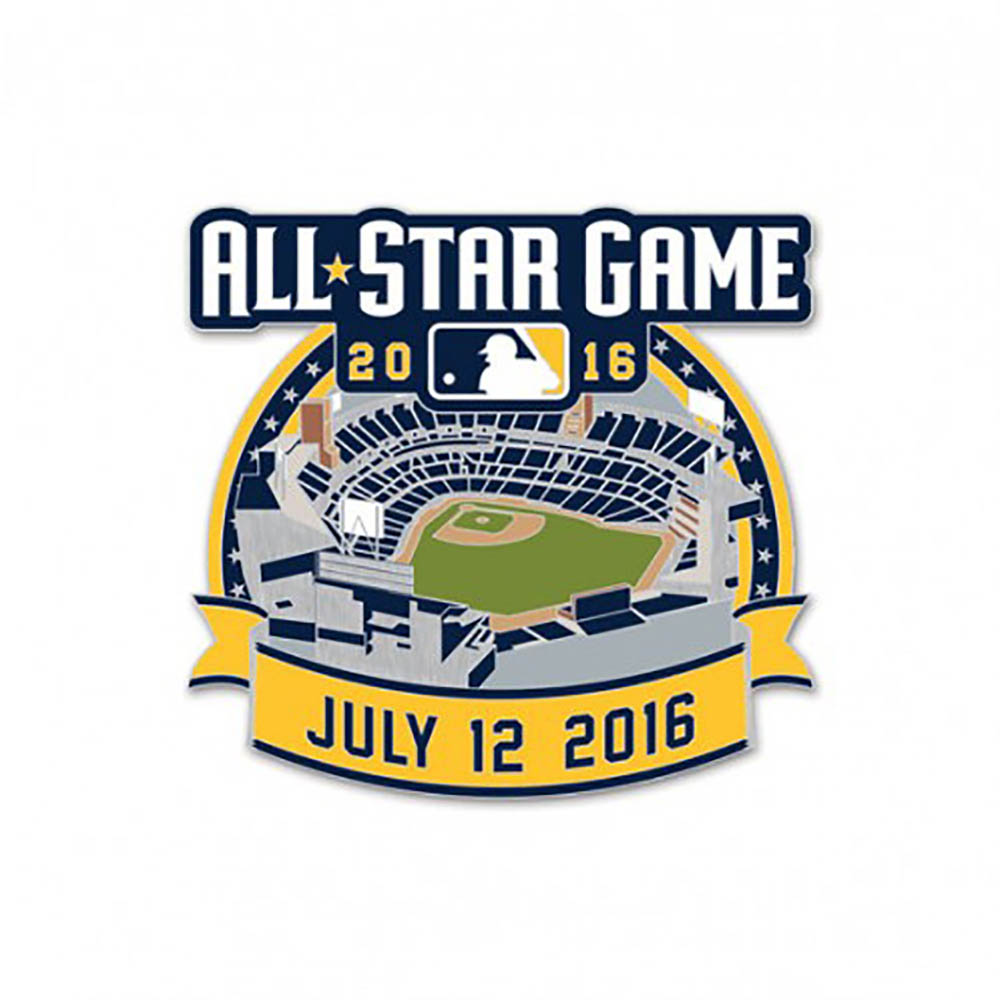 4198f6c27f15 MLB NBA NFL Goods Shop  MLB All-Star game logo collector pin win ...