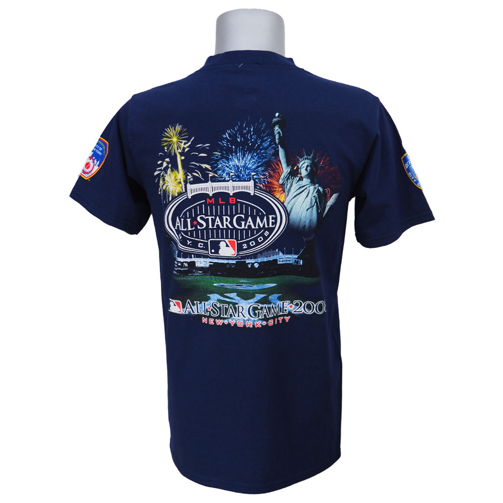【創業祭10%OFFセール】MLB ヤンキース 2009年度 第80回 オールスターゲーム 記念Tシャツ マジェスティック/Majestic ネイビー レアアイテム