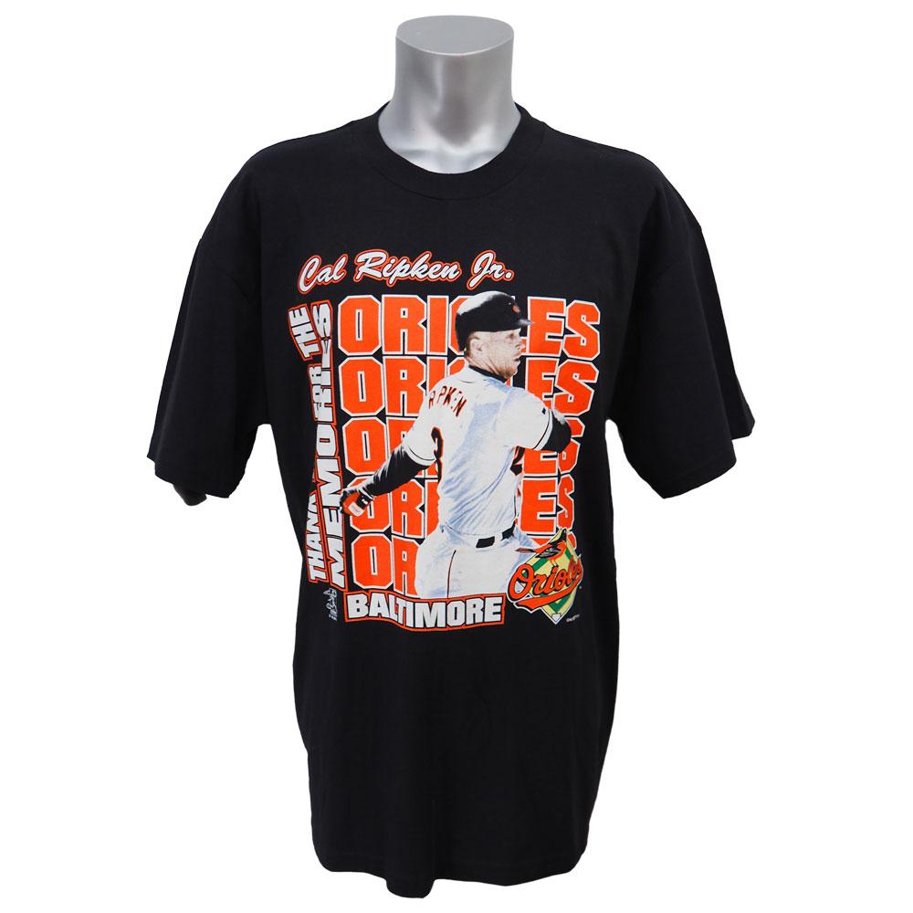 MLB オリオールズ カル・リプケン サンキュー フォー メモリアル Tシャツ True Fan ブラック レアアイテム【1910価格変更】【1112】