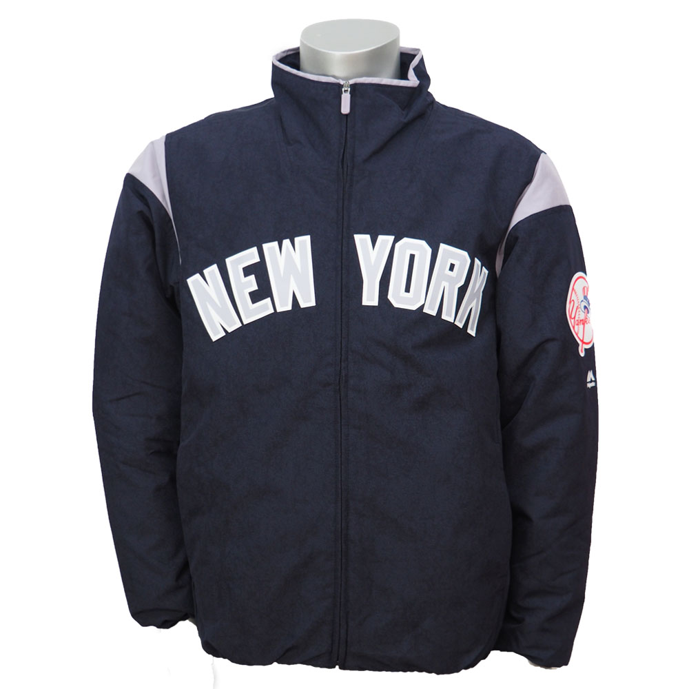 the best attitude ea1d4 63f89 MLB Yankees authentic ' premier jacket majestic /Majestic Navy/Gray