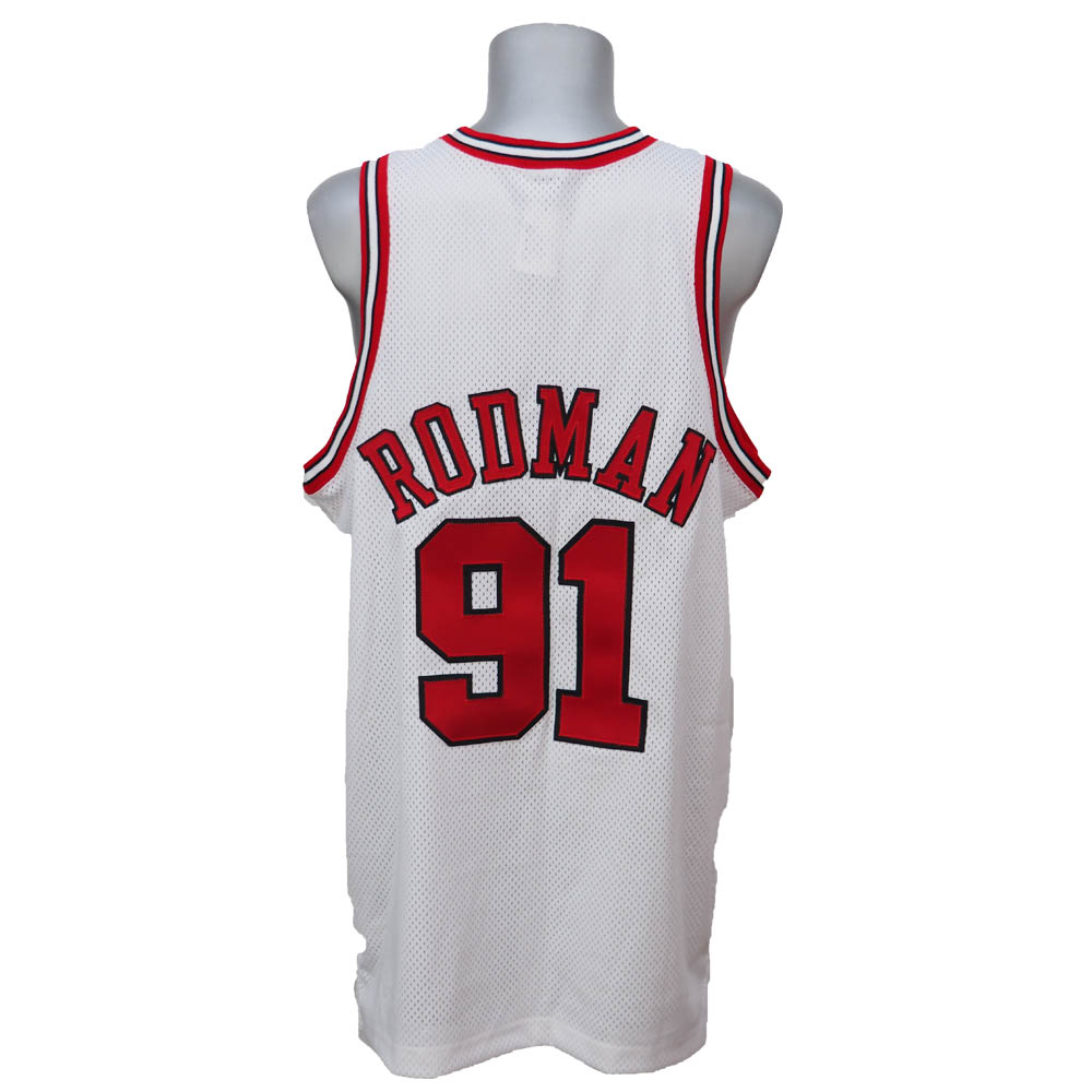 22371043 NBA bulls Dennis Rodman in 1997, made of authentic uni form Nike / Nike home