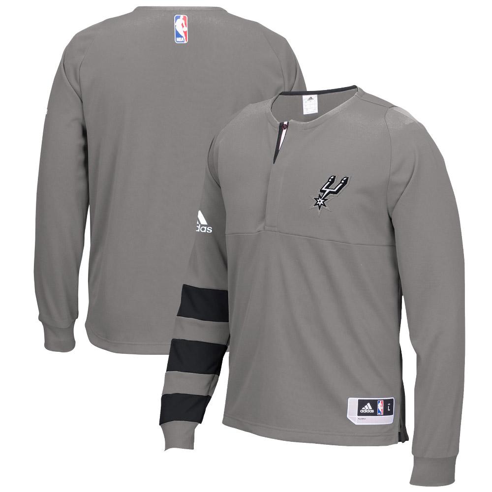 NBA Tシャツ スパーズ 2016 オンコート シューター ロング アディダス/Adidas グレー