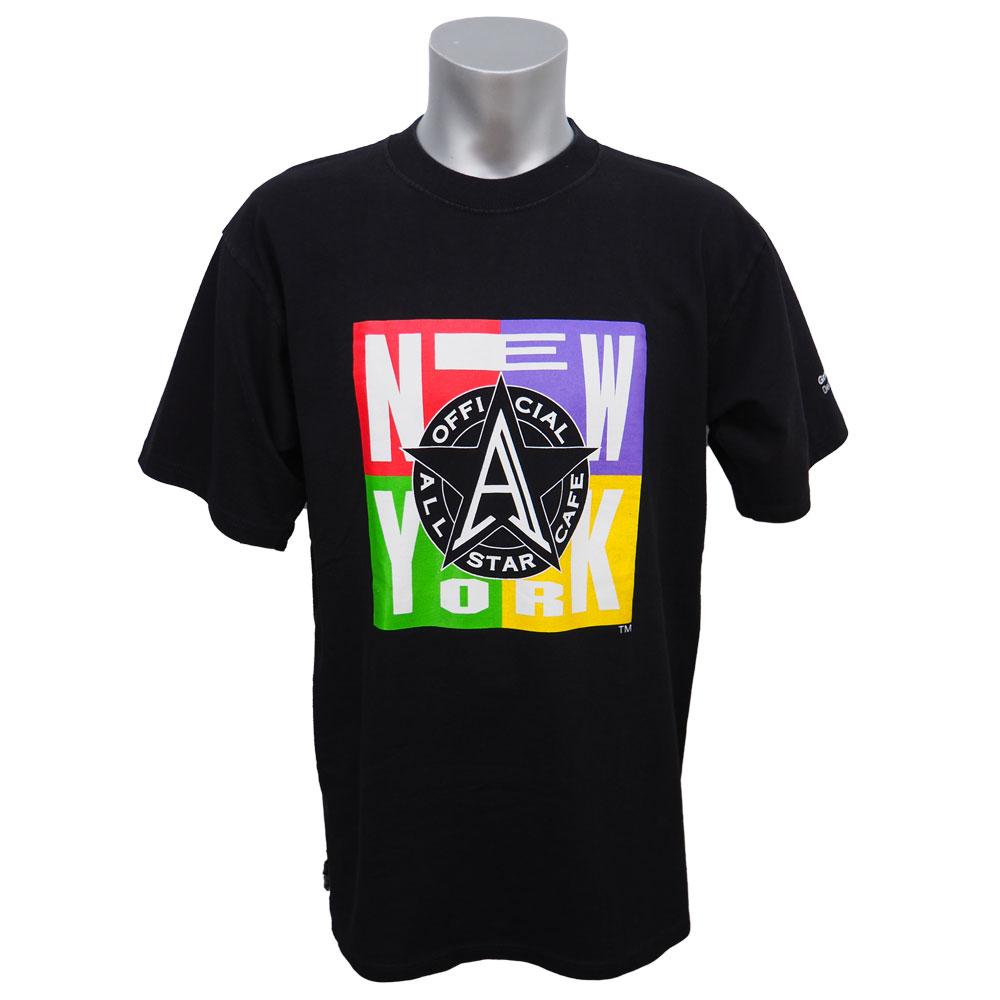 1995年度 オールスターカフェ ニューヨーク グランドオープン記念Tシャツ All Star Cafe ブラック レアアイテム