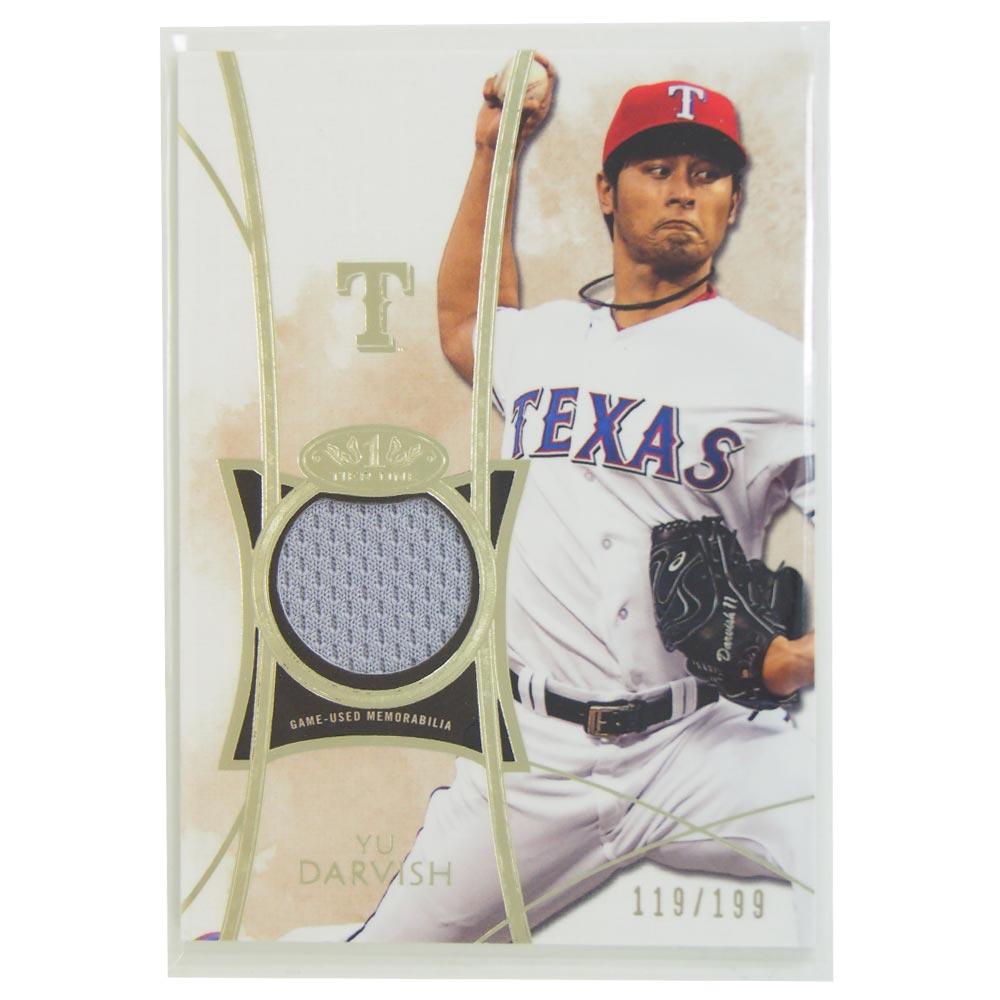 MLB レンジャーズ ダルビッシュ有 2014 ユーズド ジャージ カード トップス/Topps レアアイテム