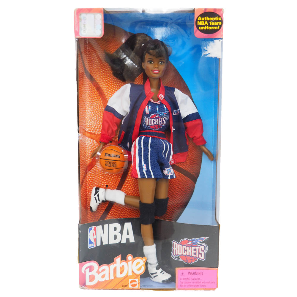 NBA ロケッツ バービー人形 1998 Barbie Collectibles African American レアアイテム