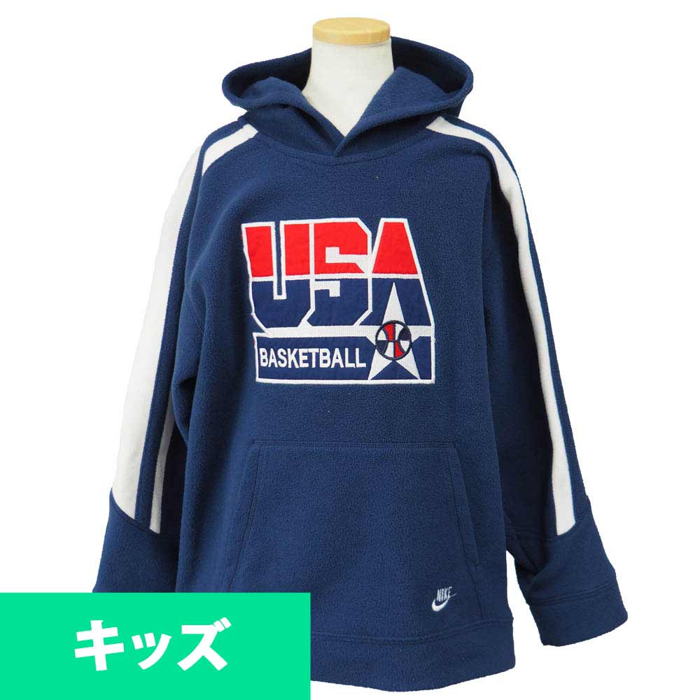 f834642fe3c9 USA Basketball national team Olympic boys fleece Hoodie Nike  Nike Navy
