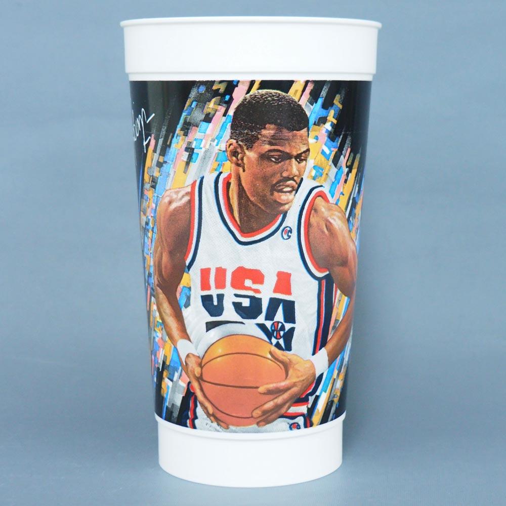 sports shoes 691c0 56d6a Representative from NBA USA David Robinson dream team 1992 mug cup  McDonald's /McDonalds