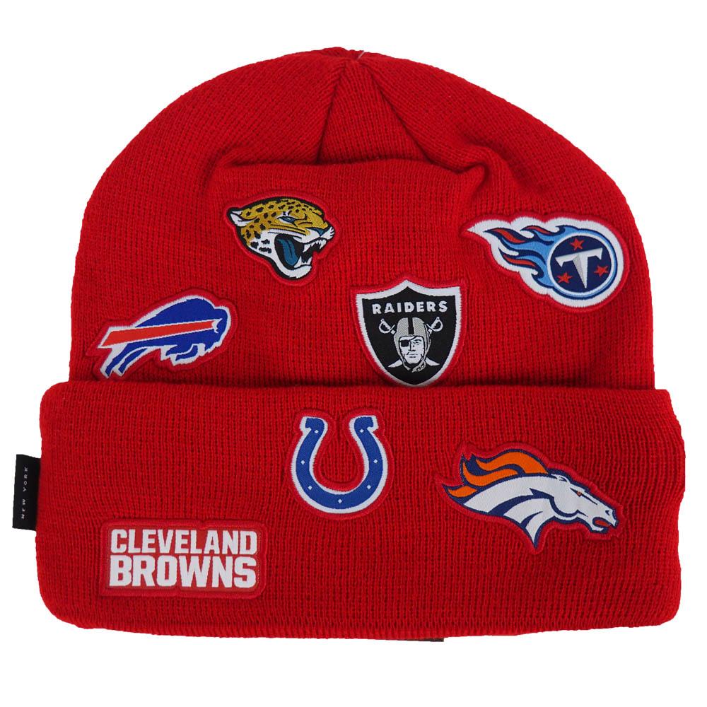 983281ce326 MLB NBA NFL Goods Shop  NFL AFC 2016 total logo knit cap   hat new ...