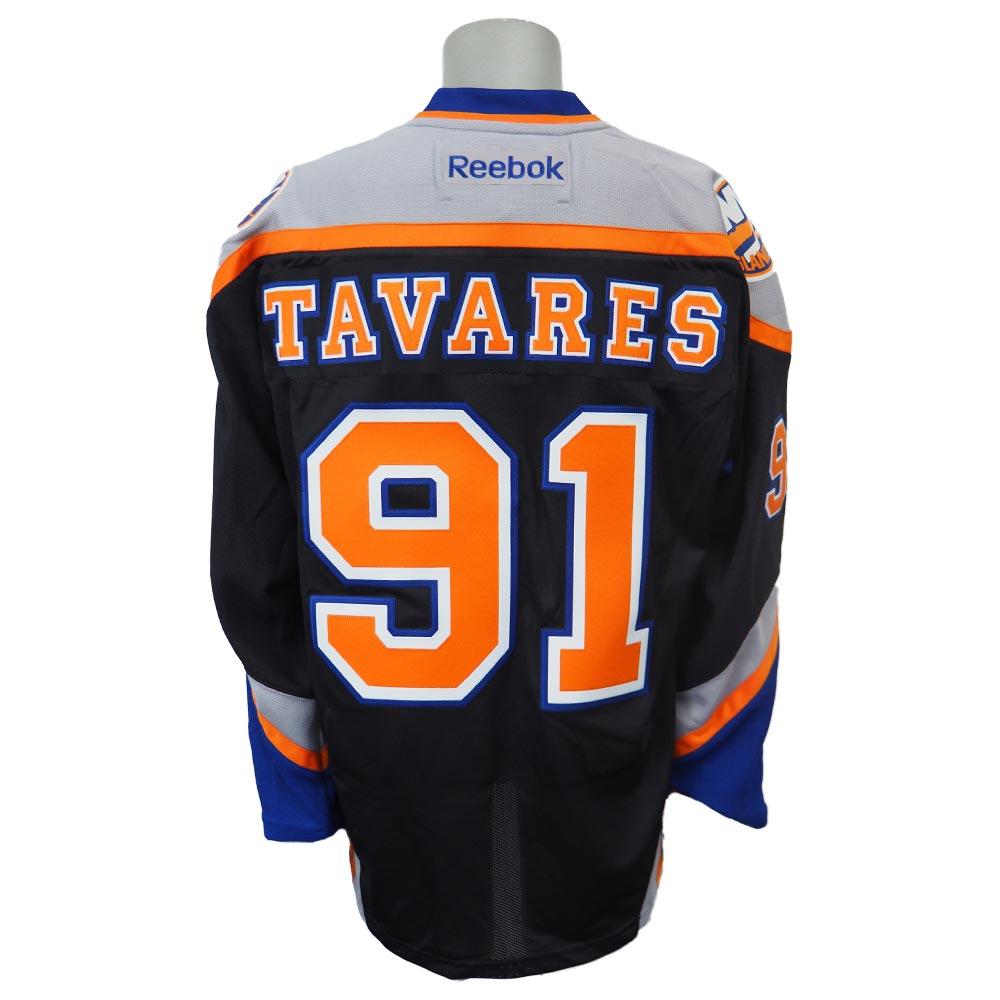 NHL アイランダース ジョン・タベアズ プレミア プレーヤー ユニフォーム リーボック/Reebok ブラック