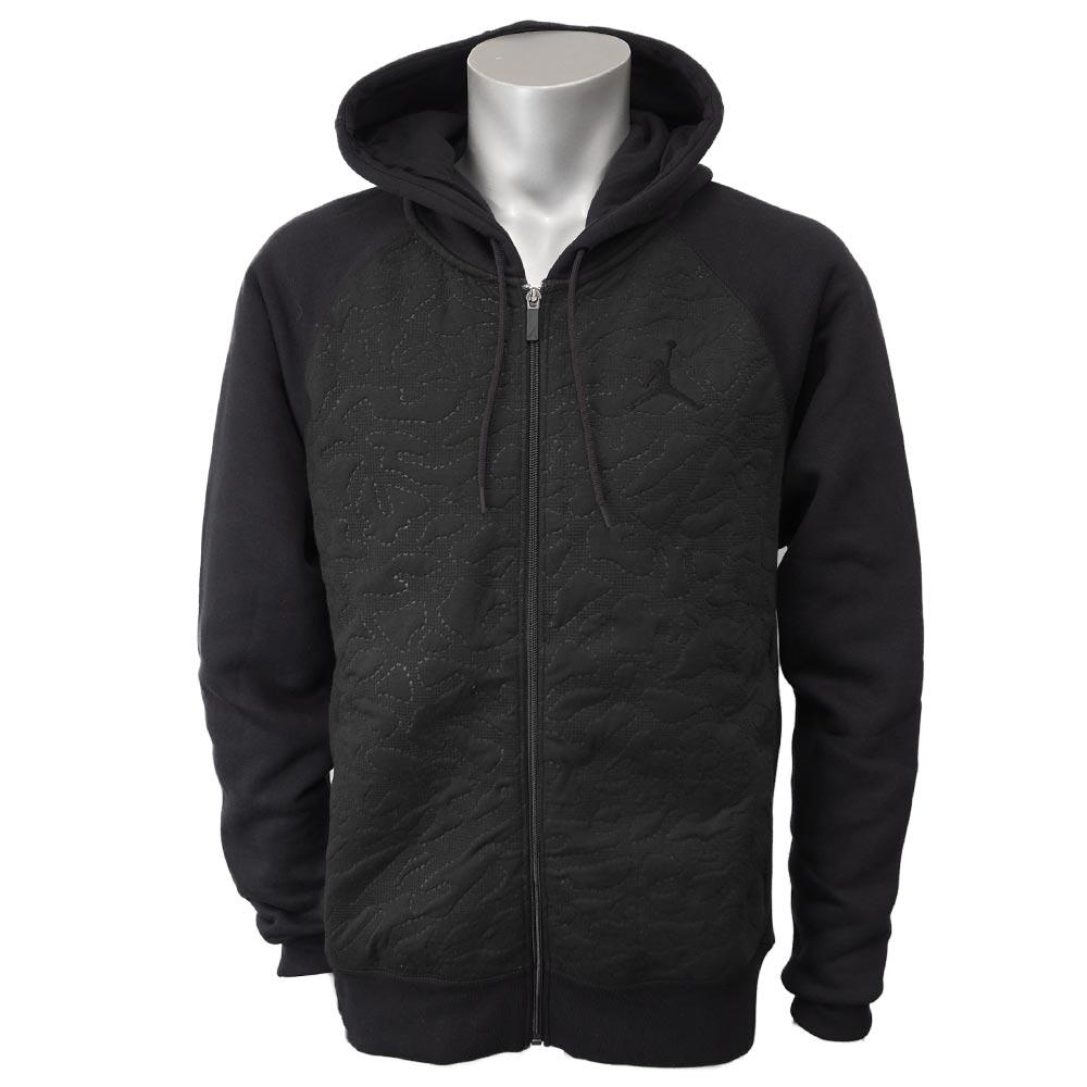a418299613f Nike Jordan /NIKE JORDAN Air Jordan 3 fleece full zip parka 819,125-010  black ...