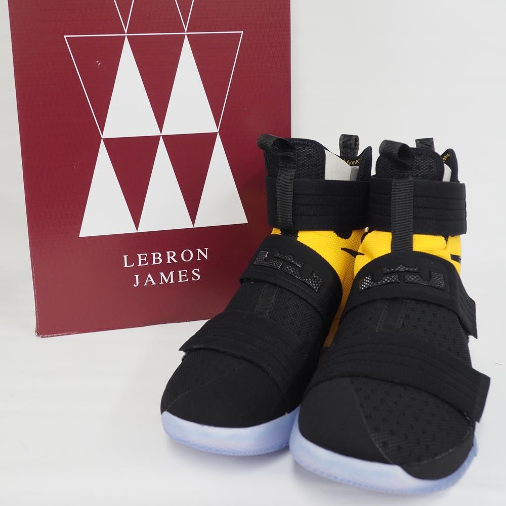 feb42214cf9d Nike Revlon  Nike LeBron soldier 10 SFG Soldier 10 SFG black   university  gold
