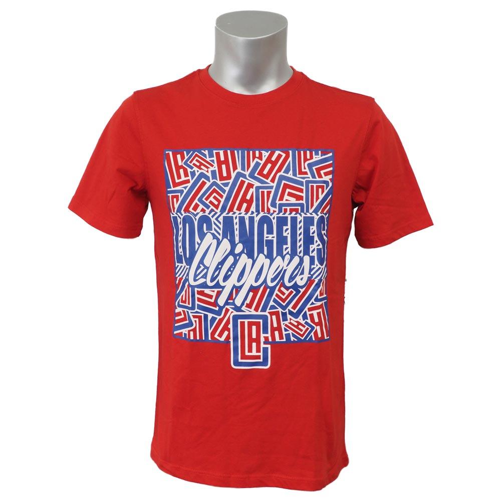 NBA Tシャツ クリッパーズ オール オーバー UNK レッド【1911セール】【1911NBAt】